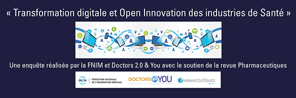 Enquete 2016 FNIM Transformation digitale et Open Innovation des industries de santé : les résultats de lenquête Pharma Compliance Digital CRM Marketing